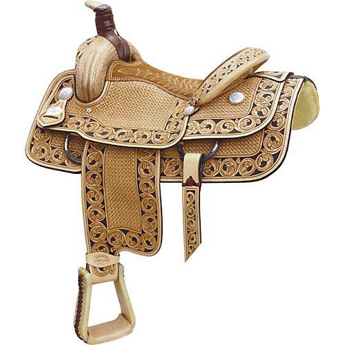 Billy Cook Saddlery Motes Accent Roper Saddle 16