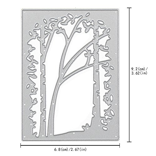 Lady Time Clearance!!Tree Metal Cutting Dies Stencil Scrapbooking Photo Paper Cards Crafts Embossing DIY by Lady Time (Image #2)