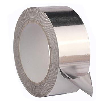 Cinta adhesiva de aluminio PURATEN, resistente al agua, resistente al calor, resistente al