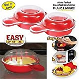 Microwave Egg Cooker - Eggwich Set of 2