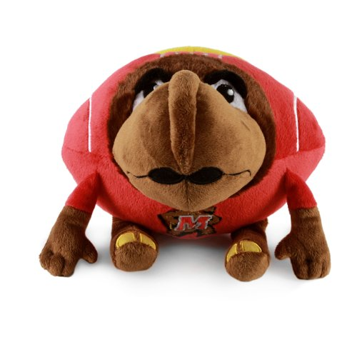 Fabrique Innovations NCAA Orbiez Plush Toy , Maryland Terrapins