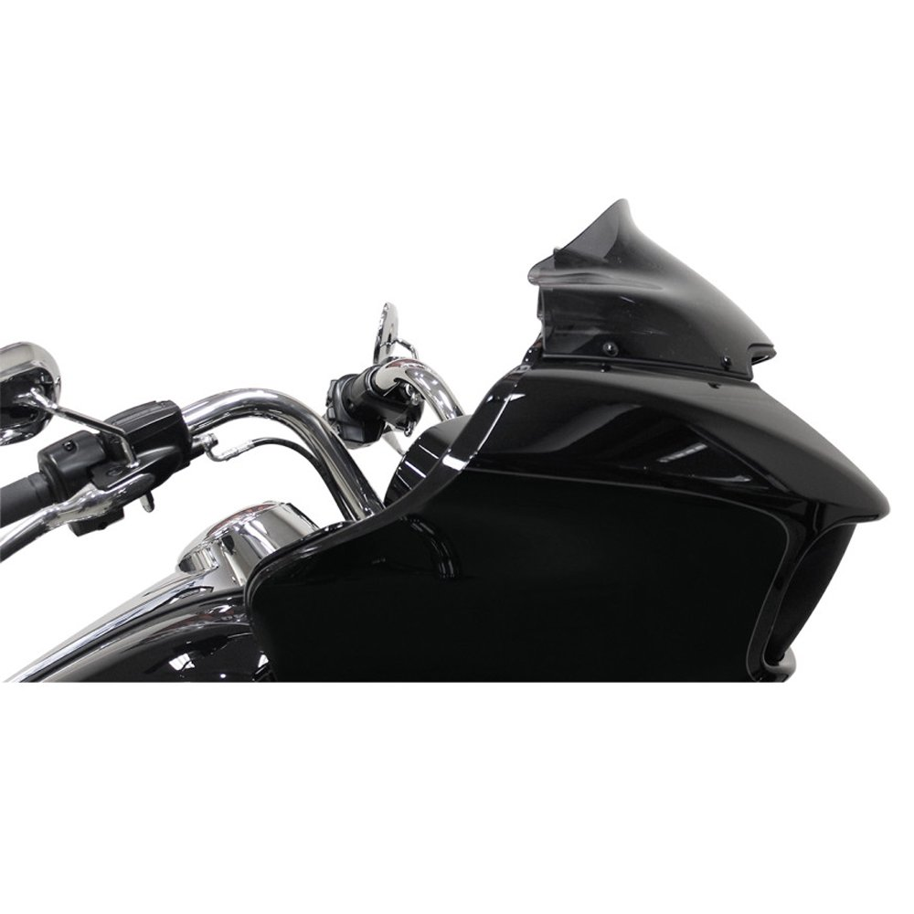 Klock Werks Sport Flare 9'' Dark Smoke Windshield for 2015 & Newer Harley-Davidson Road Glide models