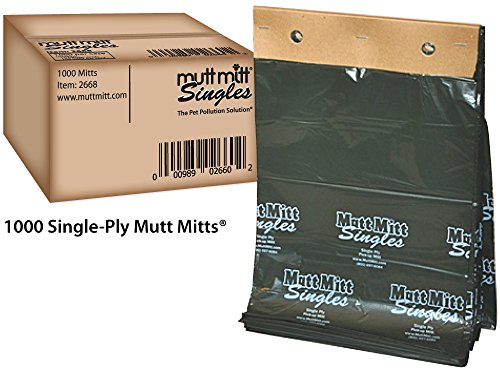 Mutt Mitt Singles 1000 case product image
