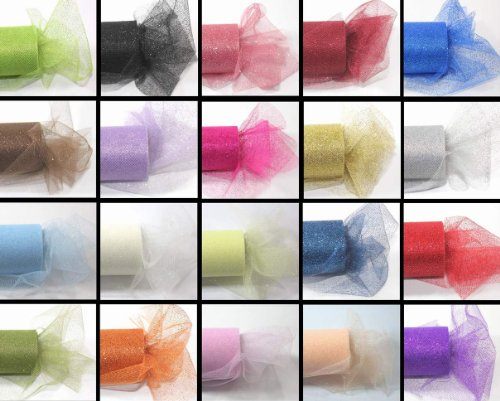 Review *SALE* 9 GLITTER Tulle