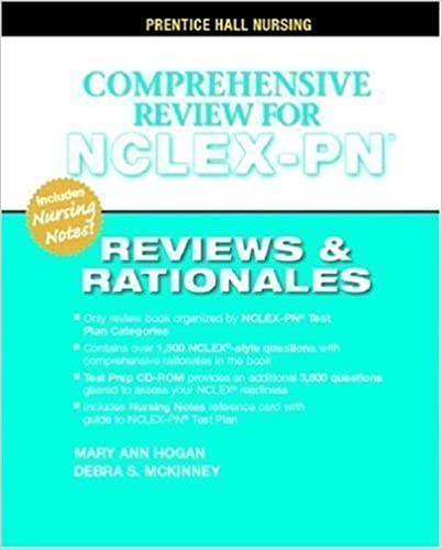 Book Prentice Hall's Reviews & Rationales: Comprehensive NCLEX-PN Review unknown Edition by Hogan, MaryAnn, McKinney MSN MBA HCM RN, Debra S. (2007)