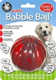 Pet Qwerks Blinky Babble Ball Interactive Dog Toys - Flashing Motion Activated Electronic Talking Ball, Treat Toy That Lights Up & Makes Noise - Avoids Boredom & Keeps Dogs Active | for Large Dogs