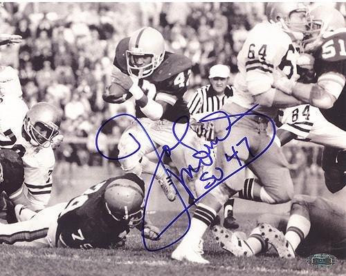 Joe Morris 1979 Run vs Navy 8x10 Photo