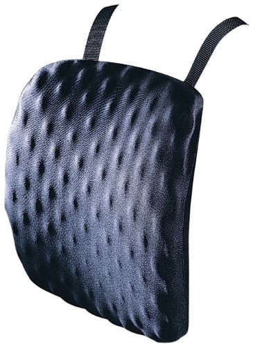 (Kensington Halfback Pad, Chair Pad for Spine Comfort and Support, in Black (L82021B))