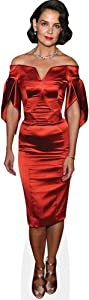 Katie Holmes (Red Dress) Mini Cutout