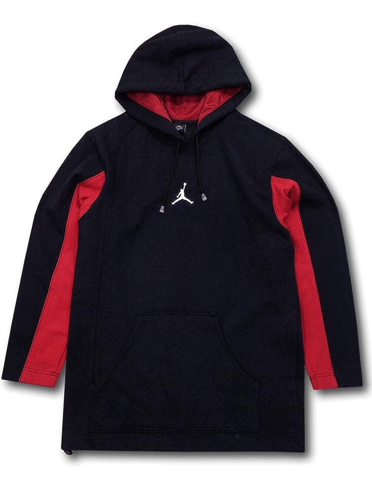 (Jordan) ジョーダン Pullover Hoodie パーカー [並行輸入品] B07HFMMR3Y ブラック/レッド/ホワイト S