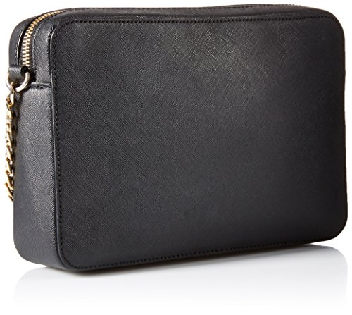 0d29ed6700 Michael Kors Womens Jet Set Large Cross-Body Bag Black: Amazon.co.uk: Shoes  & Bags