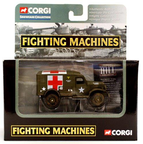 Corgi Fighting Machines T214-WC54 1/2 Ton 4x4 Ambulance