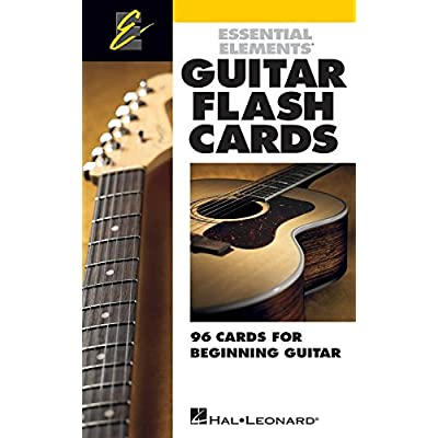Essential Elements Guitar Flash Cards Gen Merchandise by Hal Leonard: Office Products