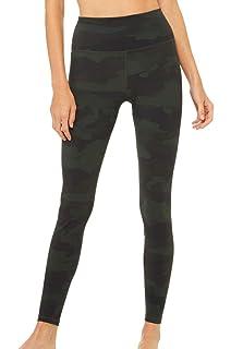 5e86035a34c36 ALO Women's High-Waist Posh Leggings at Amazon Women's Clothing store: