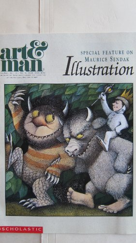 Scholastic Art & Man Magazine Special Feature On Maurice Sendak Illustration April/May 1990 (Scholastic Art Magazine)