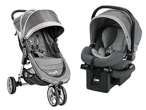 Baby Jogger 2017 City Mini Travel System, Steel Gray