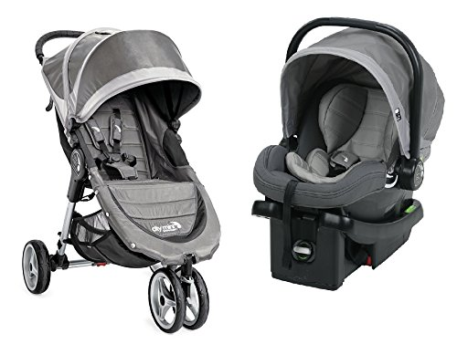 4 Wheel City Mini Pram - 4