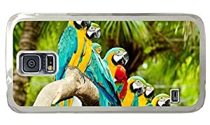 Hipster Samsung Galaxy S5 Cases the best parrots on branch PC Transparent for Samsung S5