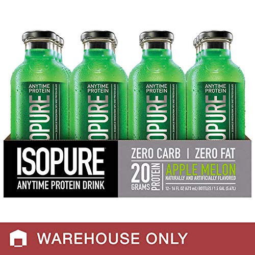 (Isopure Expect More Anytime Protein Drink, 16.0 fl oz 12-pack)
