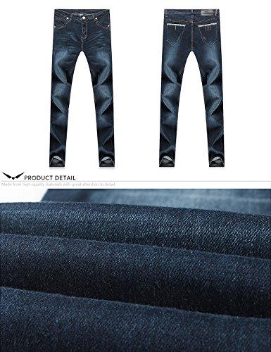 Navy Di Stretti 808 Fashion amp;hunter Uomo Da Gioventù Demon X Normal Serie Dh8058 Jeans Elasticizzato YSwO1t