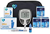 Contour NEXT Blood Glucose Testing Kit, 150 Count | Contour NEXT EZ Meter, 150 Contour NEXT Blood Glucose Test Strips, 150 Lancets, Lancing Device, Control Solution, Manual's, Log Book & Carry Case
