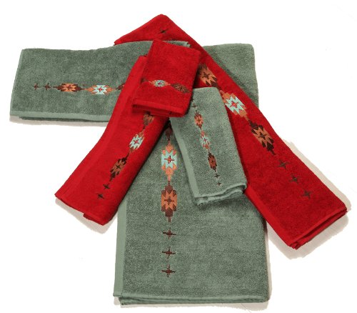 HiEnd Accents Embroidered Navajo Towel Set, ()
