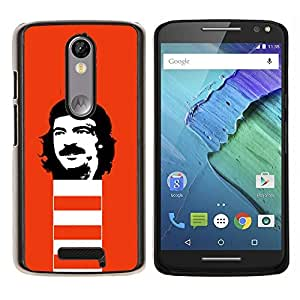 """Planetar® ( Che Guevara Revolución Retrato comunismo"""" ) Motorola Droid Turbo 2 / Moto X Force Fundas Cover Cubre Hard Case Cover"""