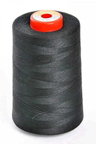 GMI N5000GP/Black | Black Gift Pack Overlocker Sewing Thread | 5000m x 4 Cones Nova