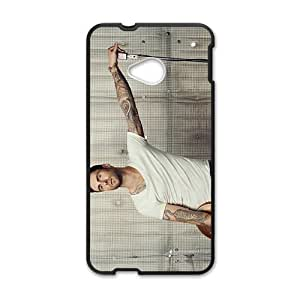 Happy Adam Levine Cell Phone Case for HTC One M7