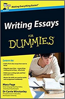 amazon com writing essays for dummies mary page  writing essays for dummies