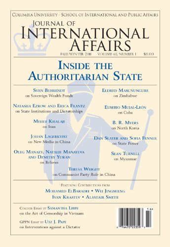 Columbia Journal (Inside the Authoritarian State (Fall/Winter 2011) (Journal of International Affairs Book 65))