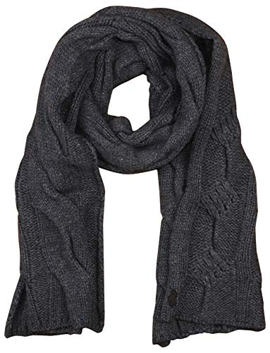 Polo Ralph Lauren Womens Cable Knit Lambswool Blend Pony Logo Scarf (One size, Antique ()