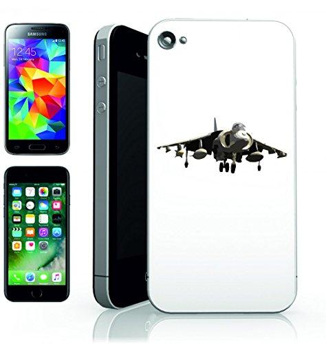 Smartphone Case Esercito-Harrier Jet marinen-aereo volare aerei da combattimento per Apple Iphone 4/4S, 5/5S, 5C, 6/6S, 7& Samsung Galaxy S4, S5, S6, S6Edge, S7, S7Edge Huawei HTC–Divertimento