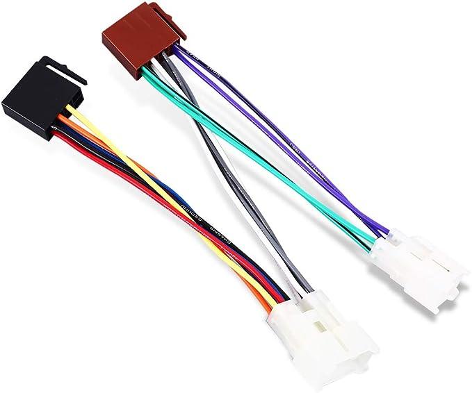 Anyutai Adaptador del Conector del Arnés De Cable del Cable del ...