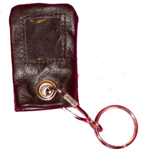 - Supple Leather Remote Cover Case w Key-Ring For Directed Electronics 471C 485M 491C 473T 474T 476T Remotes (BLACK)