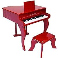 Delson 3005R Children's Grand Piano - Red