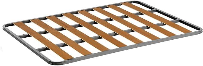 HOGAR24 Somier de Acero con láminas de chopo. Fabricación Nacional. 105x190cm-SIN Patas