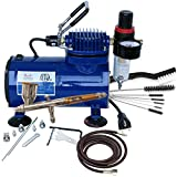 Paasche TG-100D Gravity Feed Airbrush & Compressor Package