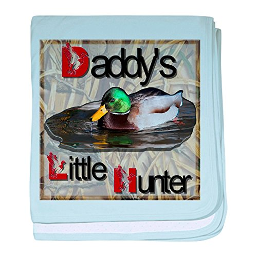 Daddy Camo Blanket (CafePress - Duck-Shirtdesign - Baby Blanket, Super Soft Newborn Swaddle)