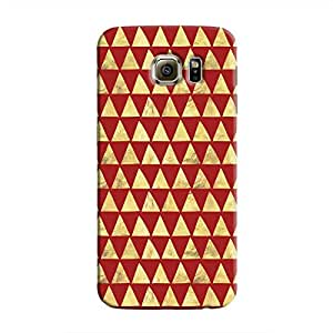 Cover It Up - Gold Triangle Tile Galaxy S6 Edge Plus Hard Case