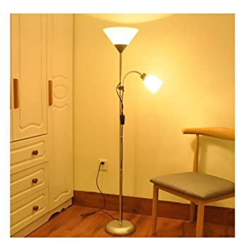 PANGU-ZC Lámpara Minimalista de pie Multifuncional, lámpara ...