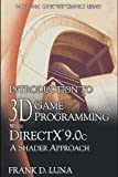 Introduction to 3D Game Programming with Directx 9.0c, Frank D. Luna, 1598220160