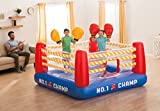 """Intex Jump-O-Lene Boxing Ring Inflatable Bouncer, 89"""" X 89"""" X 43.5"""", for Ages 5-7"""
