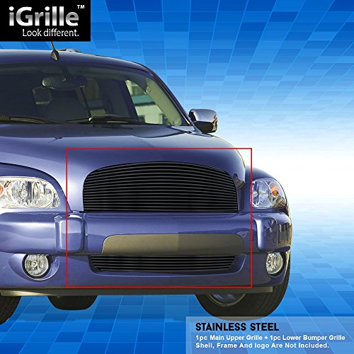 Off Roader Black Stainless Steel eGrille Billet Grille Grill for 2006-2011 Chevy HHR Combo