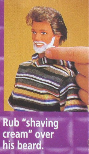 Barbie Shaving Fun Ken Doll W Quot Magic Quot Color Change Beard