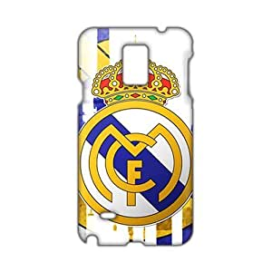 Angl 3D Real Madrid Logo Phone For SamSung Galaxy S4 Mini Case Cover