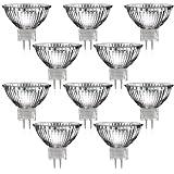 Parat - Loto de 10 bombillas halógenas (casquillo GU5,3, 12 V CA, 35 W, 12 V)