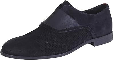 Hugo Boss Men's Smart Dark Blue Loafers
