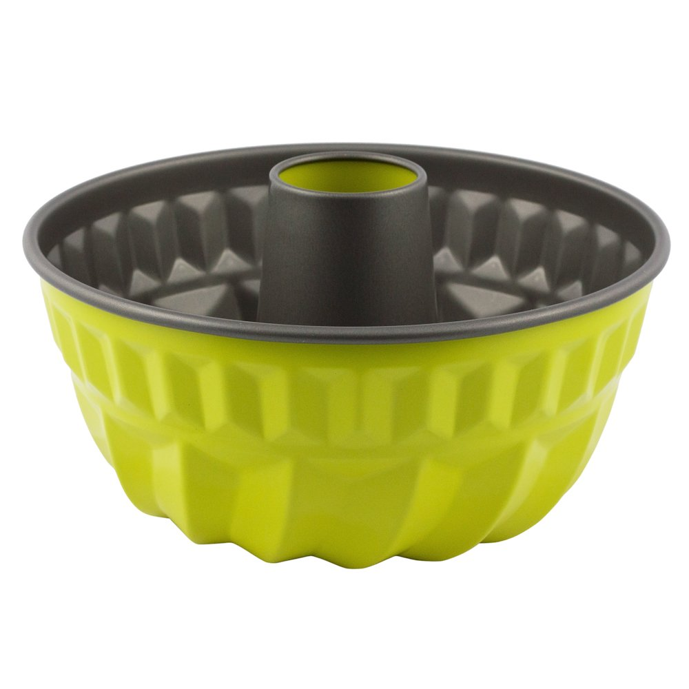 Bundt Pan Non-stick Finish Professional Looking Desserts, Yellow