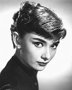 Audrey Hepburn (Sabrina) Face Close Up Classic Hollywood Glamour actriz Celebrity Póster Impresión 16x 20